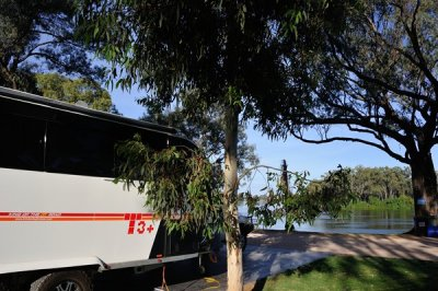 A great spot by the Murray at Renmark.