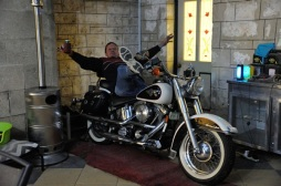 Not on Barry's Harley!!